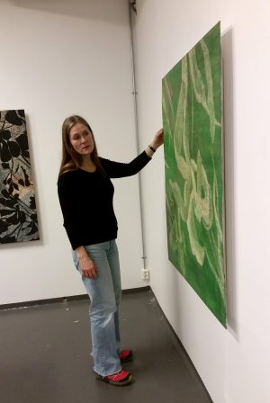 Margrethe Leonore Solstad, exhibiting in Athens January 2017