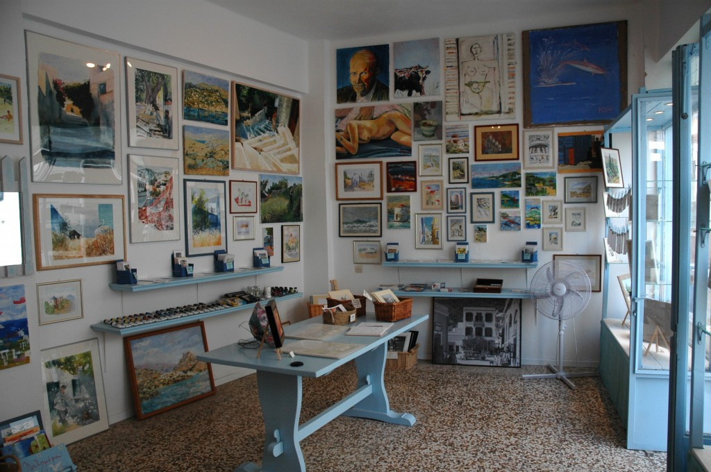 Gallery & Shop, Leros