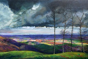 'View from Chantonbury Ring' by Peter Thornborough