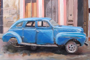 'Wheel Change, Havana' by Rupert Sutton