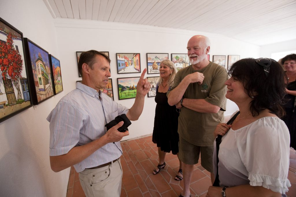 David Croitor tells about his paintings