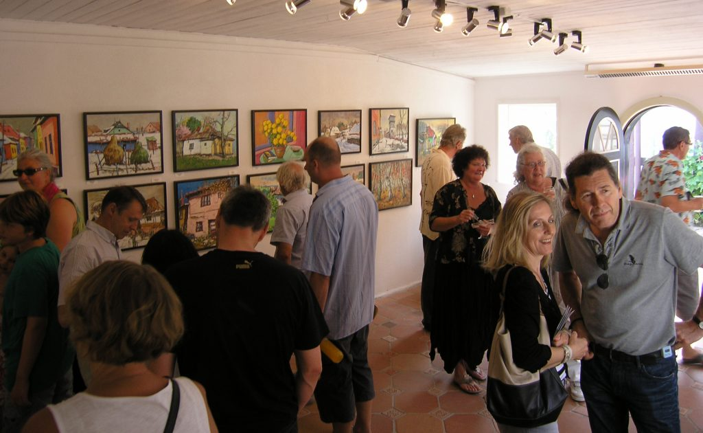 From the Opening of the exhibition 'Scenes from Romania'