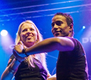 Stine Ortvad and Eduardo will get the party going at Bryghuset Møn