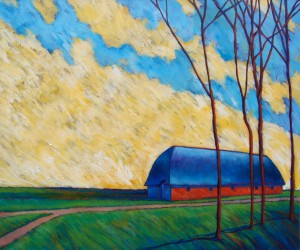 'The Barn' by Peter Thornborough