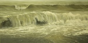 'The Quietest Moment' (50 x 100 cm) by Niels Valentin