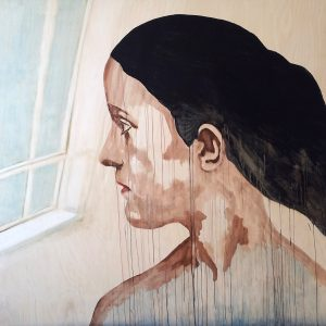 'Woman at Window' by Margrethe Leonore Solstad